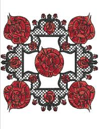 home decor product categories machine embroidery designs by red and black rose preview 900