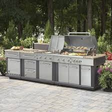 Outdoor Cabinets Lowes Lowes Outdoor Kitchen Master Forge Modular Outdoor Kitchen Set