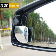 Blind Spot Side Mirror 1pair High Quality Car Rear View Convex Mirror 360 Adjustable Wide