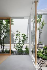 Indoor Plant Design by House Design With Indoor Plants Display And Natural Scenery