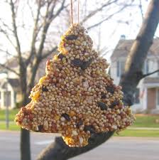 bird seed ornaments the reluctant hippie