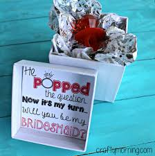 asking bridesmaids ideas ask your bridesmaid with a ring pop this is a way of
