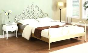 plank bed frame iron canopy bed frame homesfeed claudio rayes beds