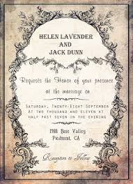 Wedding Invite Template Motive Vintage Wedding Invitation Template Design Weddingsrusdeco