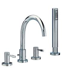 series f 4 hole bath shower mixer tap with shower kit sfl047 mayfair series f 4 hole bath shower mixer tap with shower kit