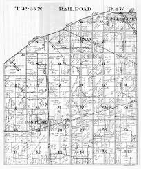 Plat Maps by 1925 Township Plat Maps Starke County Historical Photos U0026 Documents