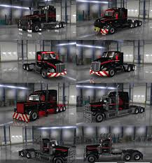 kenworth truck repair mammoet usa skinpack for trucks mod american truck simulator mod