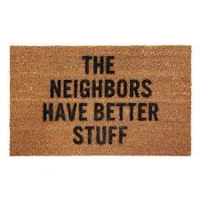 doormat funny better stuff doormat coir funny door mats rugs uncommongoods