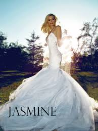backless mermaid wedding gown lauren elaine jasmine