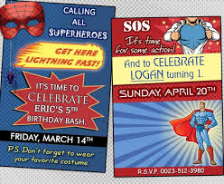 throw a superhero themed birthday party on a budget in great style