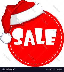 christmas sale christmas sale tag royalty free vector image vectorstock