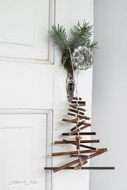 rustic twig tree ornament on a branchfunky junk interiors