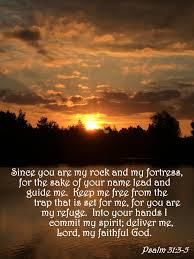 lord guide me verse of the day u2013 psalm 31 3 5 the bottom of a bottle