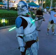 possibly star wars costume