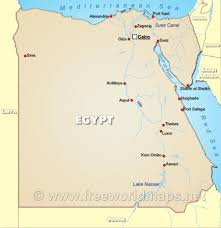 Map Of Egypt In Africa by Ancient Egypt The Theban Necropolises Infobarrel