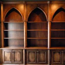 custom made bookcases style bookcases with distressed finish by