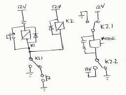 wiring for dpdt relay u0026 2 switches used for a reciprocating motor
