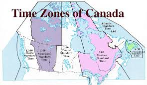 canadian map with time zones canada time zone map canadian map time zones with 712 x 414 map
