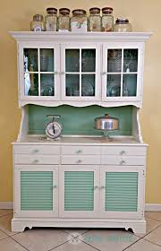 Vintage Kitchen Furniture A Once Boring Vintage Kitchen Hutch Class It Up With D Lawless