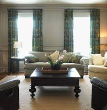 gossamer blue for a traditional family room with a traditional and