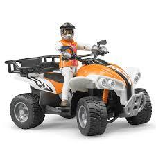 land rover bruder bruder quad bike with driver u003e online toys australia