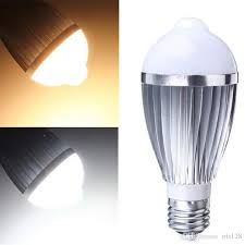 pir led light bulb wholesale led light bulb e27 pir auto motion sensor led bulbs