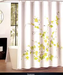 Grey And Yellow Shower Curtains Tahari Home Printemps Salmon Pink And Grey Floral