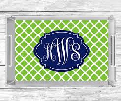 monogrammed serving trays personalized acrylic tray monogram serving tray lucite in