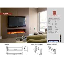 amazing wall mount electric fireplace inserts design decor