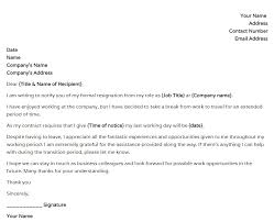 resignation letter sample due to the travel u2013 word