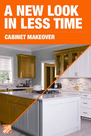 home depot kitchen cabinets and sink update your kitchen with a cabinet makeover from the home