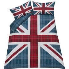 Argos Duvet Buy Check Union Jack Multicoloured Bedding Set Kingsize At Argos