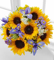 bouquet of sunflowers meant to shine sunflower iris bouquet i the combination