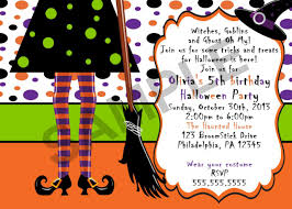 halloween birthday invites halloween witch birthday invitation digital file on luulla