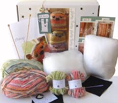 two plump flumps knitting kit personalised by gift