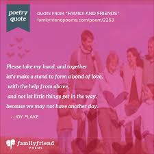 family and friends friends i m sorry poem