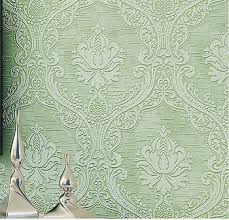buy thick european 3d wallpaper luxurious floral embossed