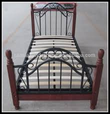 Cheapest Single Bed Frame Sale Single Metal Bed Frames With Wood Slats Iron Frame Single