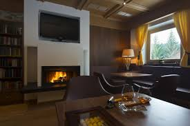 Trentino Outdoor Fireplace by Parkhotel Holzerhof Maranza Italy Booking Com