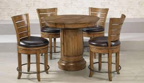 pub style dining sets pub style dining set table hideaway leaf