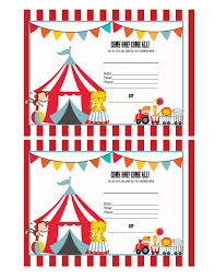 circus invitations birthday party ajordanscart com