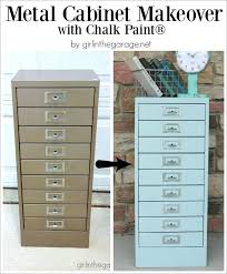metal filing cabinet makeover painting metal furniture collection in chalk paint on metal filing