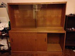 Glass Fronted Sideboards Glass Fronted Sideboard Display Cabinet Unit In Durham County