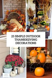 thanksgiving outdoor decorations lighted iron