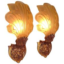 Antler Wall Sconce Late 1920s Early 1930s Art Deco Wall Sconces For Sale At 1stdibs