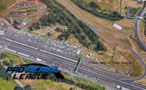 Portland Oregon Traffic Map by Portland Rose Cup Drone Racing