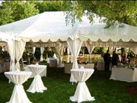 cheap tablecloth rentals party rentals chicago tent rental chicagoland event rental store