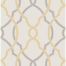 Yellow Lattice Rug A Street Sausalito Yellow Lattice Wallpaper 2697 22620 The Home