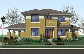 prairie style home prairie style home with porte cochere 16817wg architectural