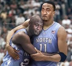 Jordan Crying Meme - 26 best memes of north carolina losing to villanova kris jenkins